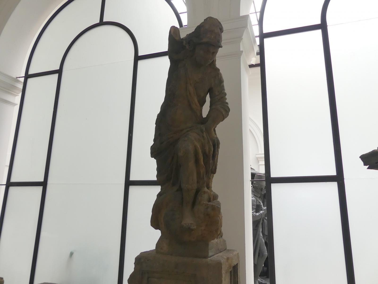 Johann Georg Bendl: Engel, der mit einem Drachen kämpft, 1650