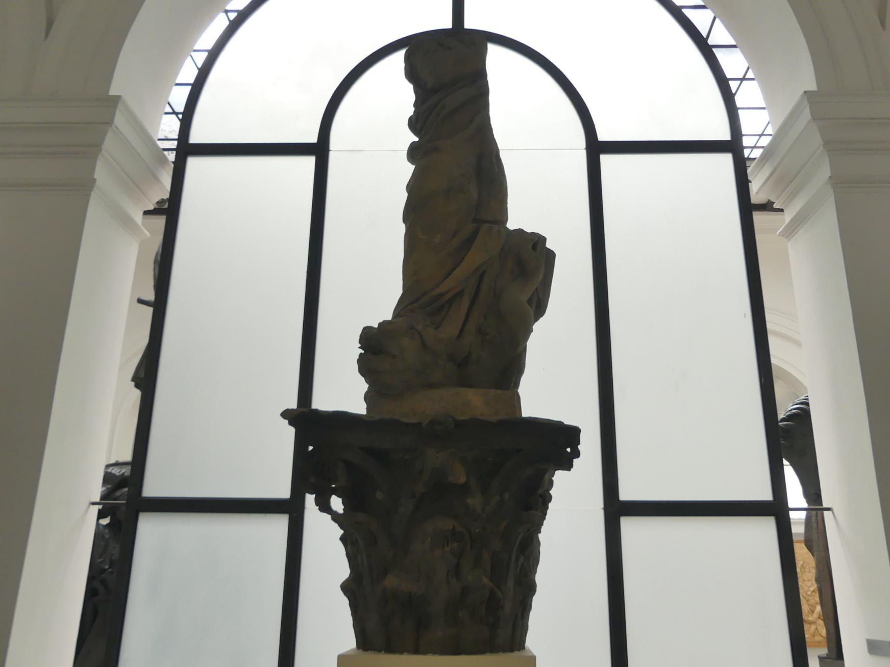 Johann Georg Bendl: Fragment der Skulptur Immaculata, 1650