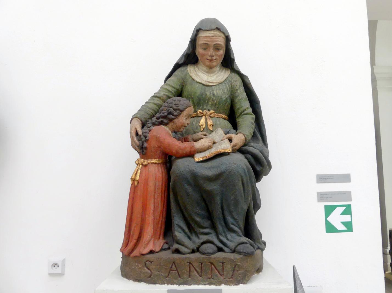 Die Hl. Anna lehrt die Jungfrau Maria, Um 1650