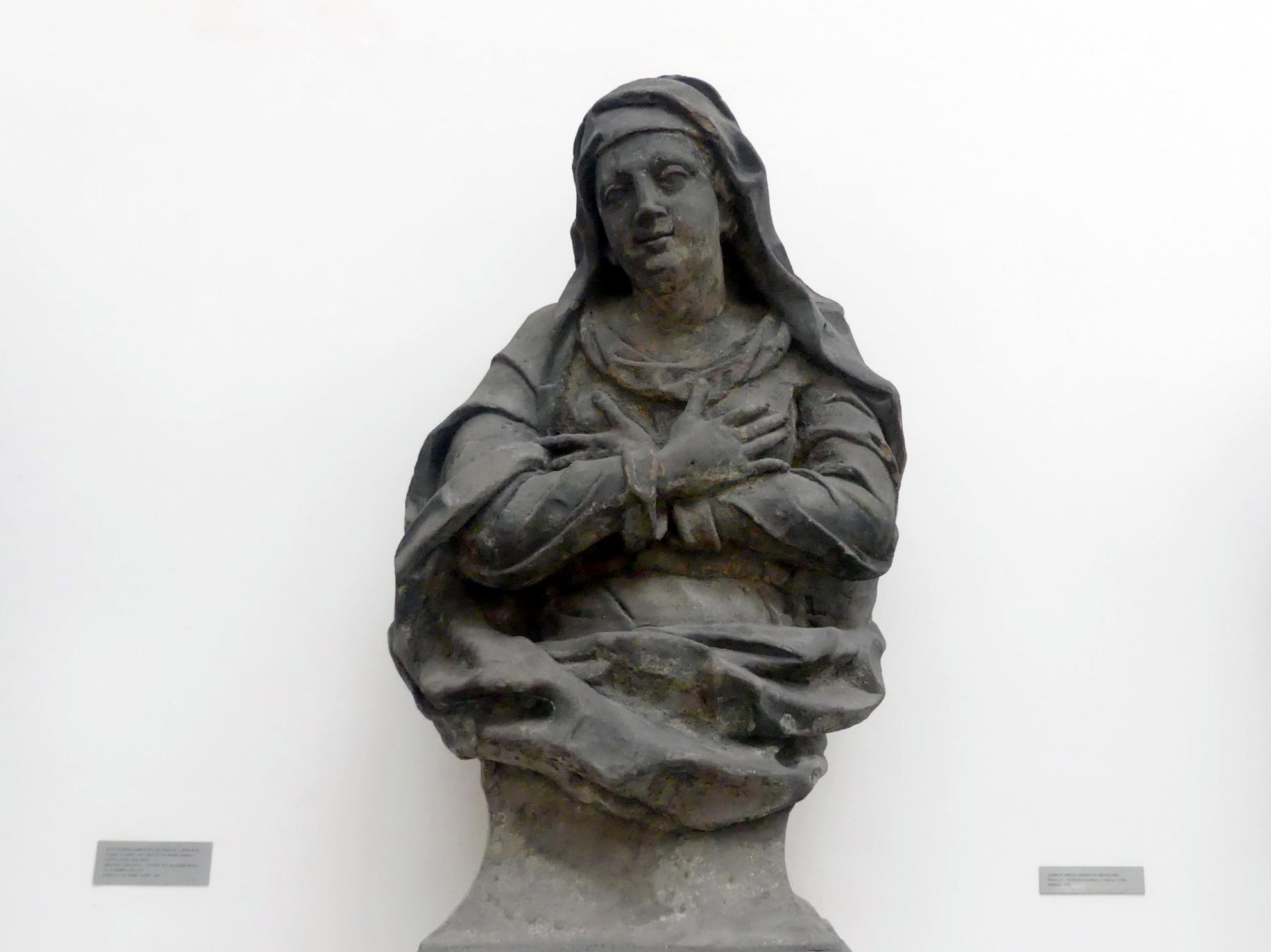 Jungfrau Maria, 1. Viertel 18. Jhd.