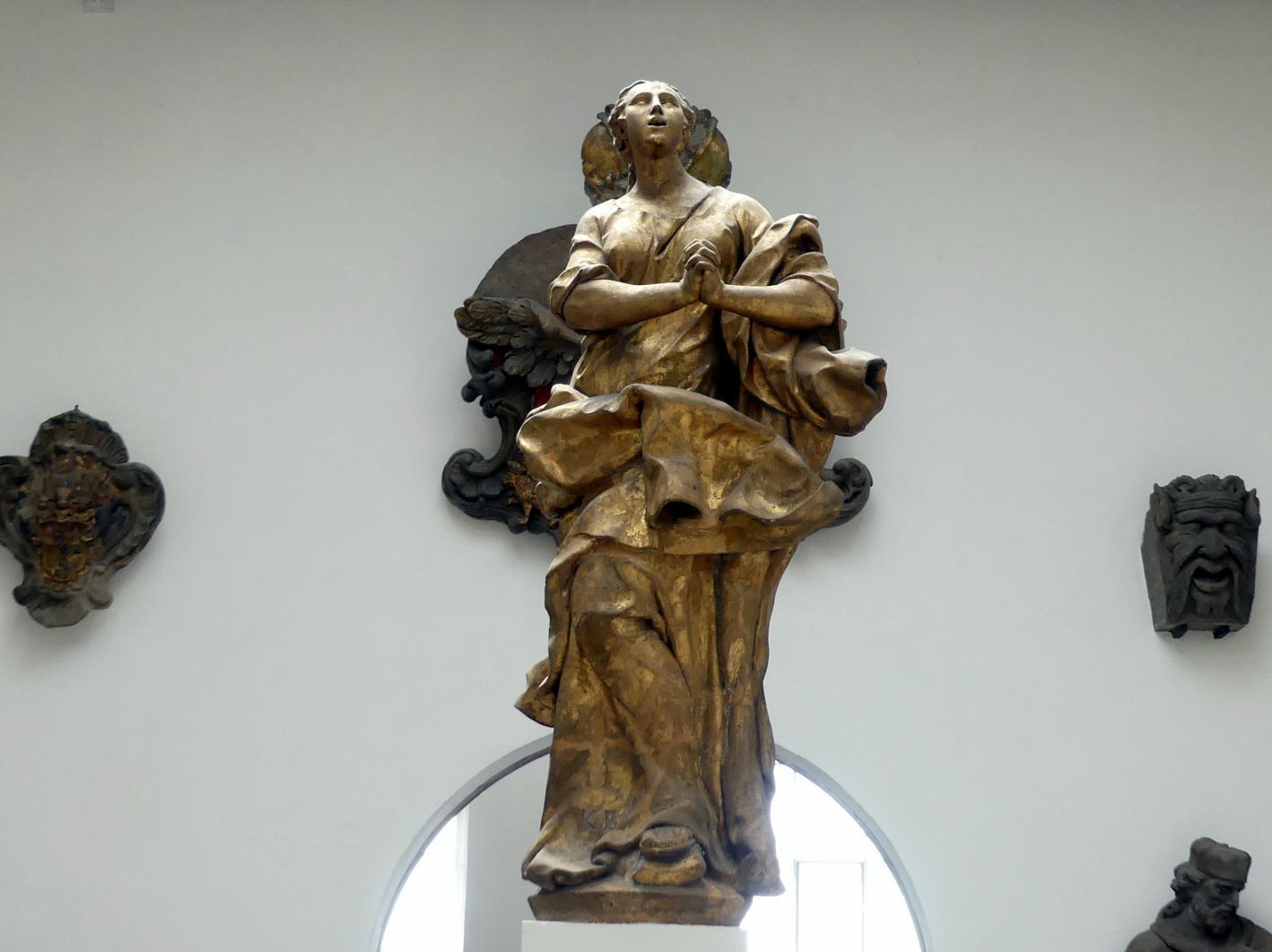 Ferdinand Maximilian Brokoff: Maria Immaculata, 1726