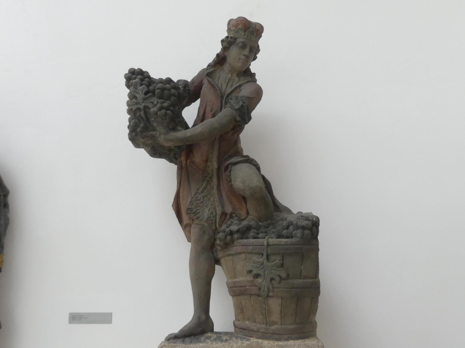 Johann Brokoff: Hl. Wenzel als Winzer, Beginn 18. Jhd.