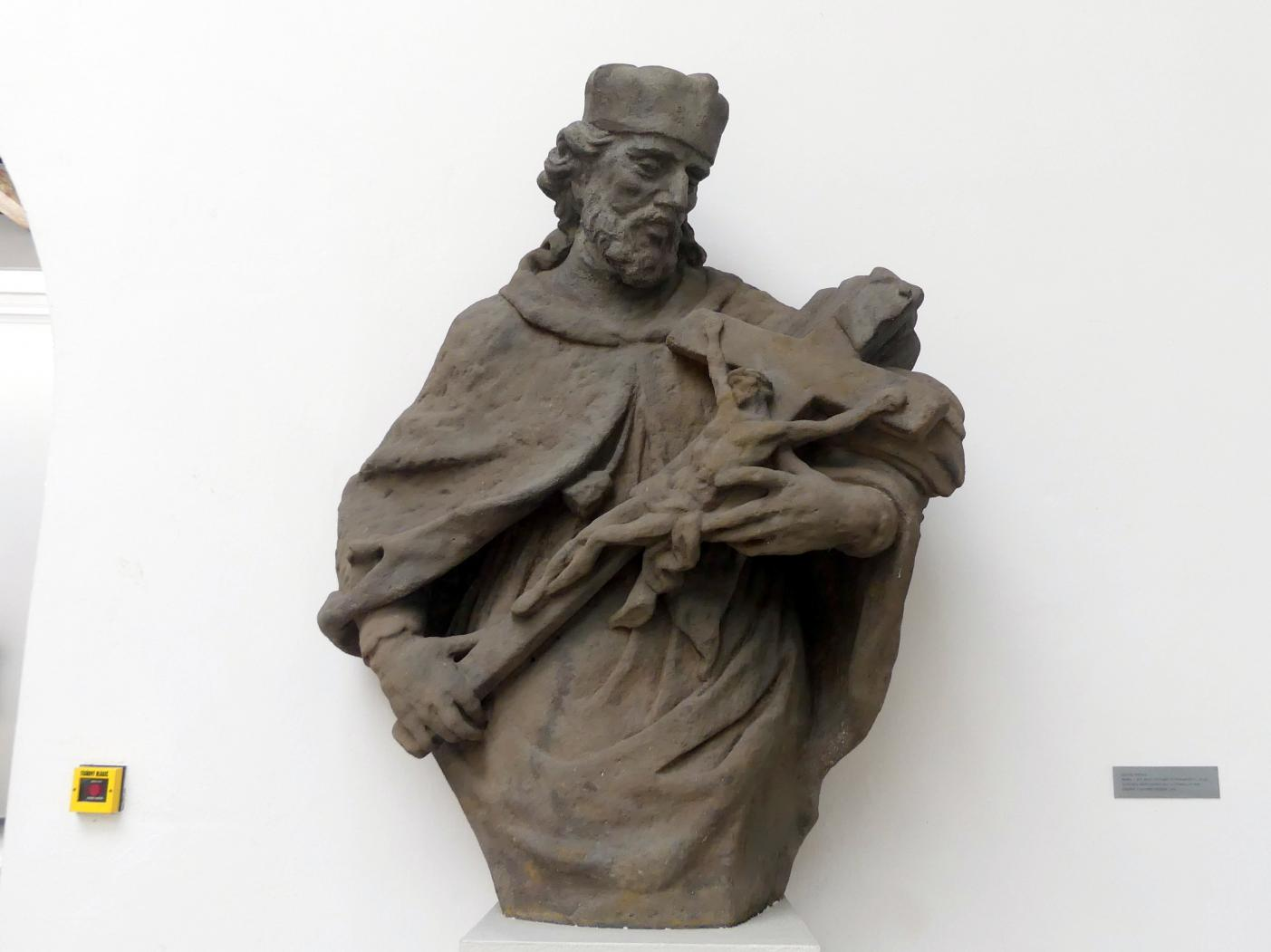 Anton Braun: Hl. Johannes Nepomuk, 1735