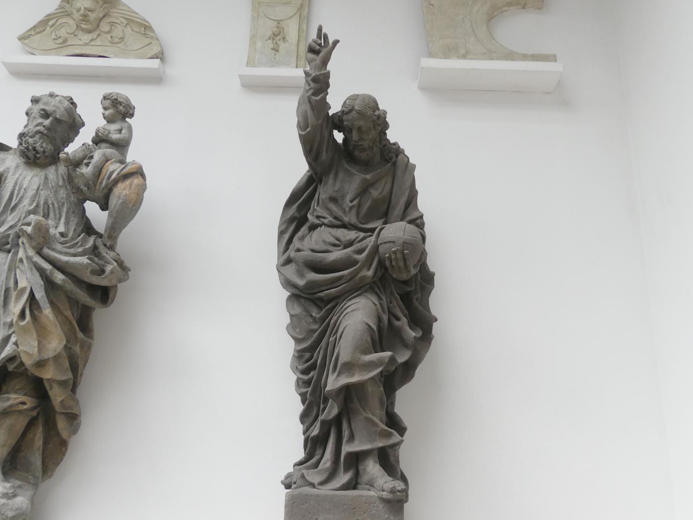 Mathias Wenzel Jäckel: Christus als Erlöser der Welt (Salvator mundi), 1696
