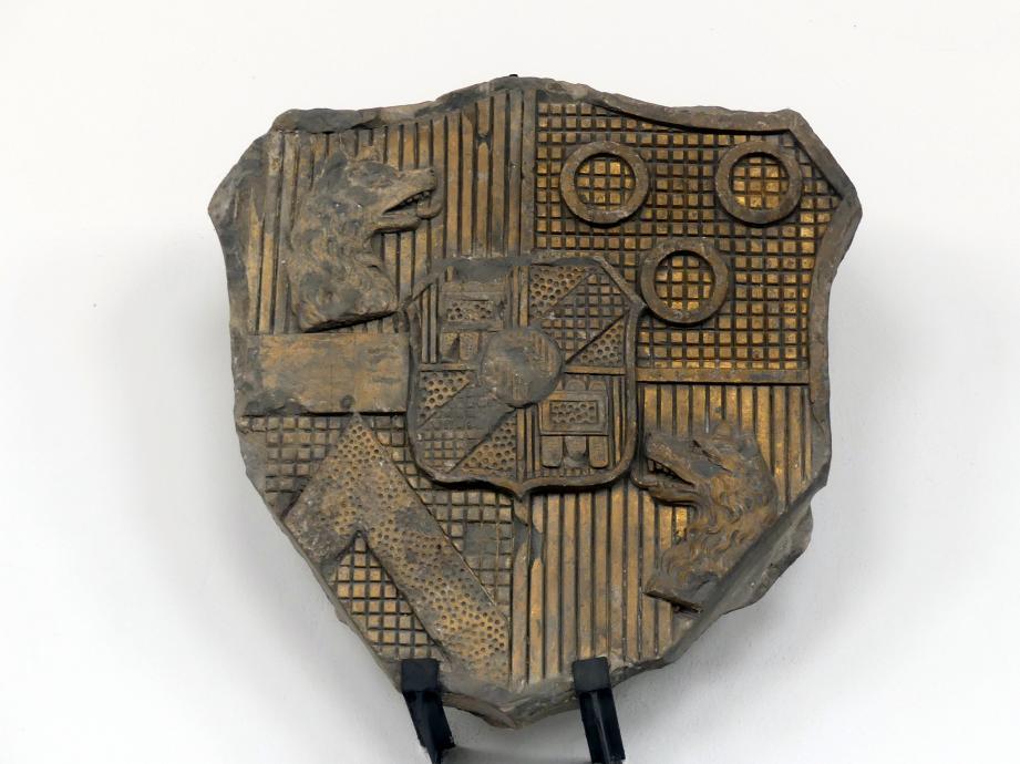 Fragment des Wappens der Fürsten Windisch-Graetz, Mitte 19. Jhd.