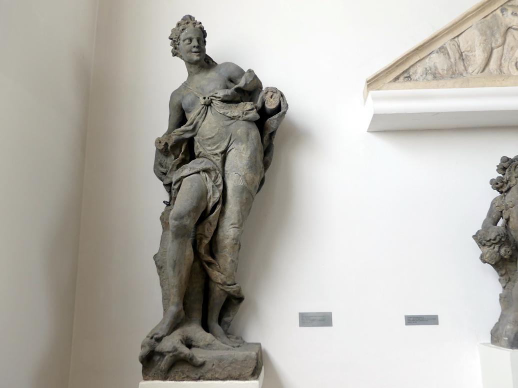 Matthias Bernhard Braun: Juno (römische Göttin der Geburt), 1725 - 1726