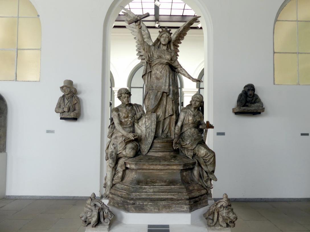 Bohuslav Schnirch: Allegorie des Gehorsams, 1889