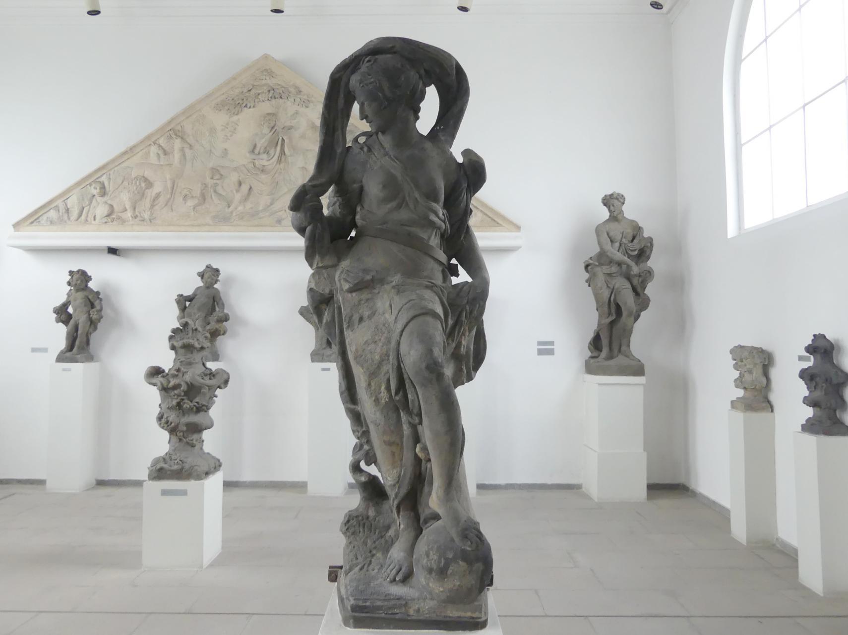 Ignaz Franz Platzer: Fortuna, Um 1765