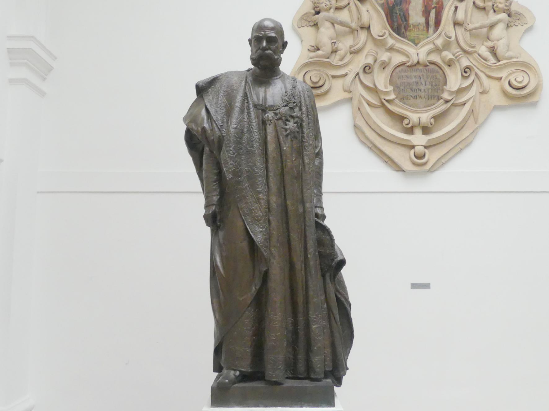 Josef Pekárek: Kaiser Franz Josef I., Beginn 20. Jhd.