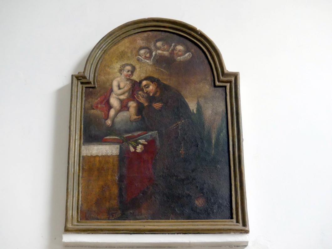 Hauszeichen mit dem Hl. Antonius von Padua, 18. Jhd.