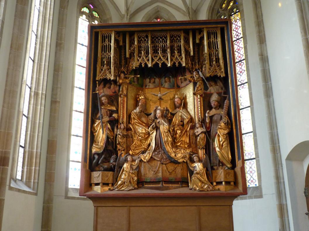 Michael Pacher: Grieser Altar, Schrein: Marienkrönung, 1471 - 1475