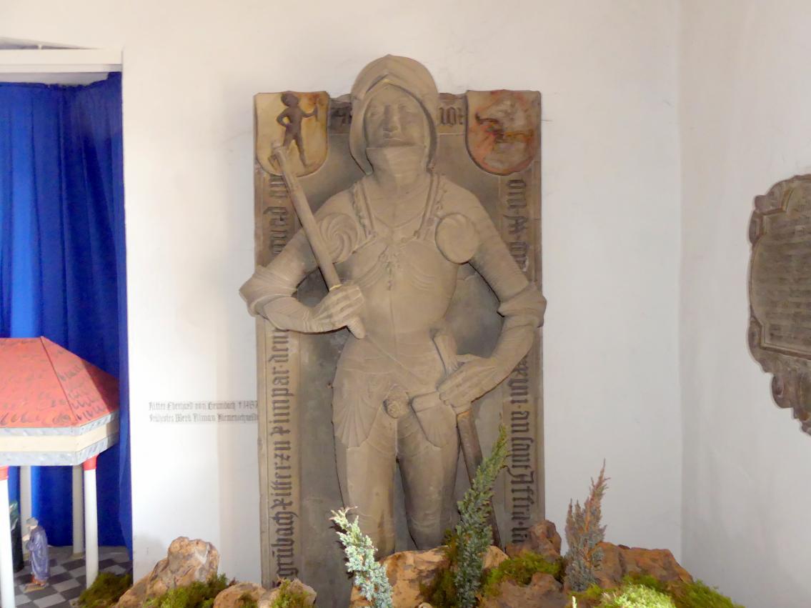 Tilman Riemenschneider: Grabmal des Ritters Eberhard von Grumbach, um 1488