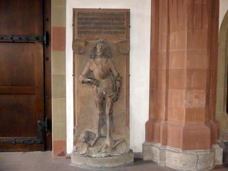 Tilman Riemenschneider: Grabmal des Ritters Konrad von Schaumberg, Um 1500