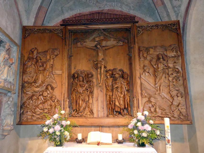 Tilman Riemenschneider: Kreuzigungsaltar, 1512 - 1515