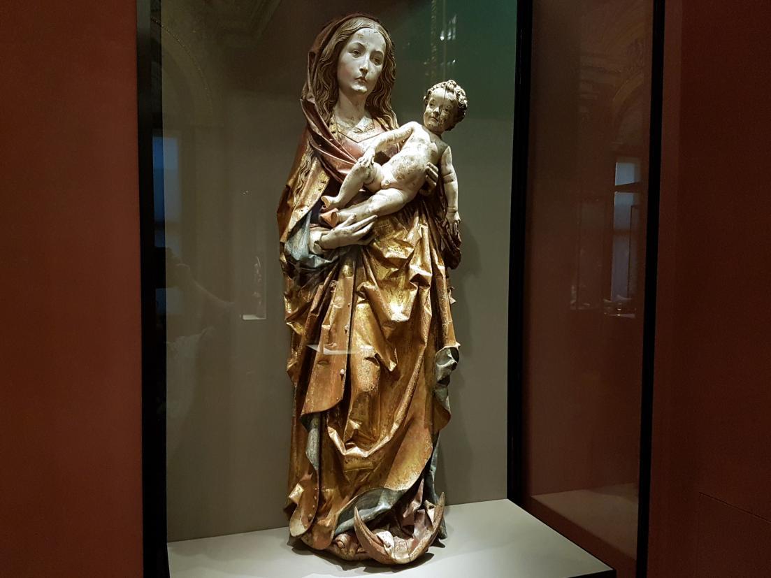 Tilman Riemenschneider: Maria mit Kind, um 1505 - 1510, Bild 3/6