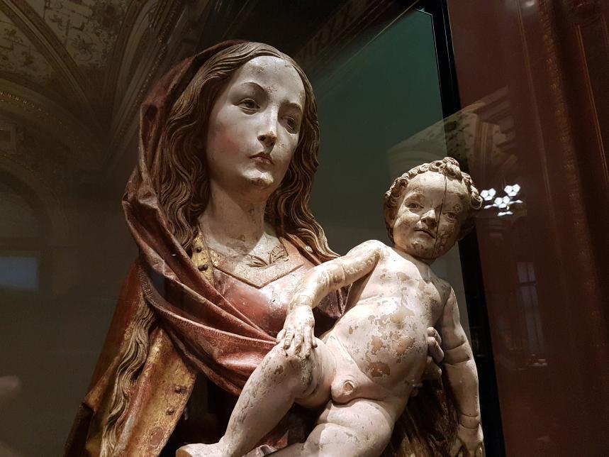 Tilman Riemenschneider: Maria mit Kind, um 1505 - 1510, Bild 5/6