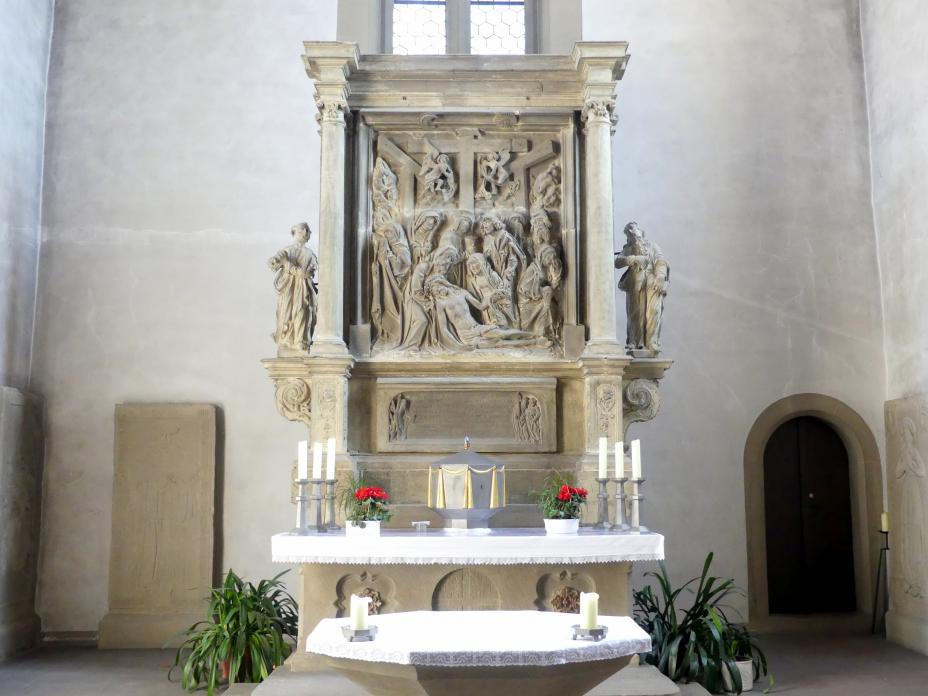 """Tilman Riemenschneider: Altar """"Beweinung Christi"""", um 1522 - 1525"""