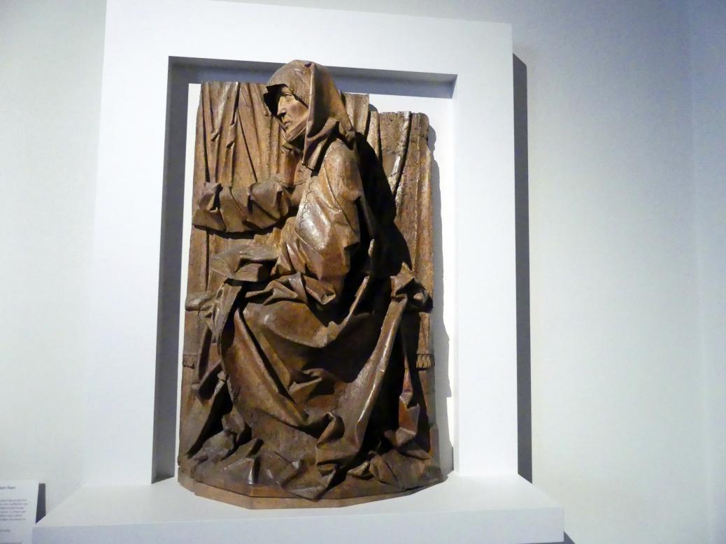 Tilman Riemenschneider: Hl. Anna, wohl Fragment einer Heiligen Sippe, Um 1505 - 1510