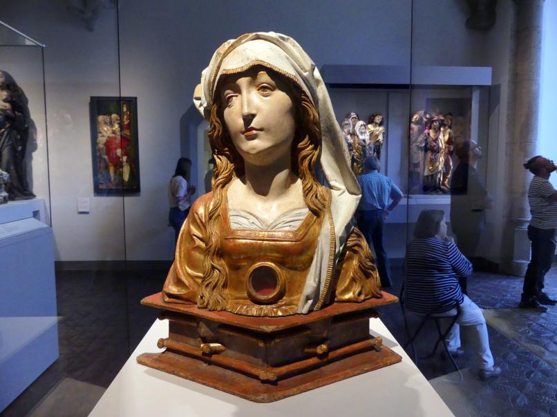 Tilman Riemenschneider: Reliquienbüste: Hl. Afra, Um 1505