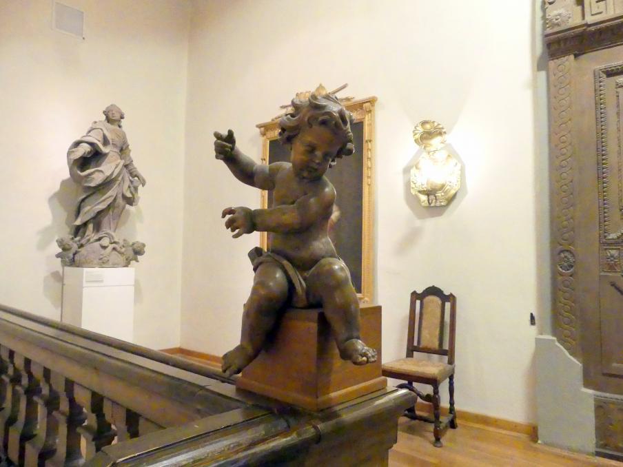 Johann Peter Wagner: Zwei Engelputten, Undatiert