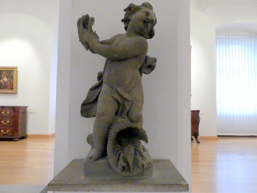 Johann Peter Wagner: Putto als Krebsfänger, 1776 - 1777