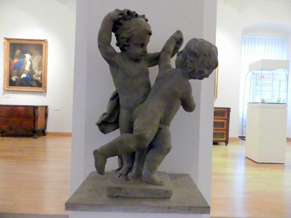 Johann Peter Wagner: Zwei tanzende Putten, 1776 - 1777