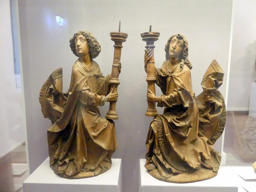 Tilman Riemenschneider: Leuchterengel, Um 1505