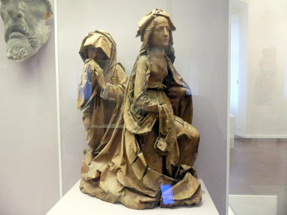 Tilman Riemenschneider: Trauernde Frauen (Fragment), Um 1510