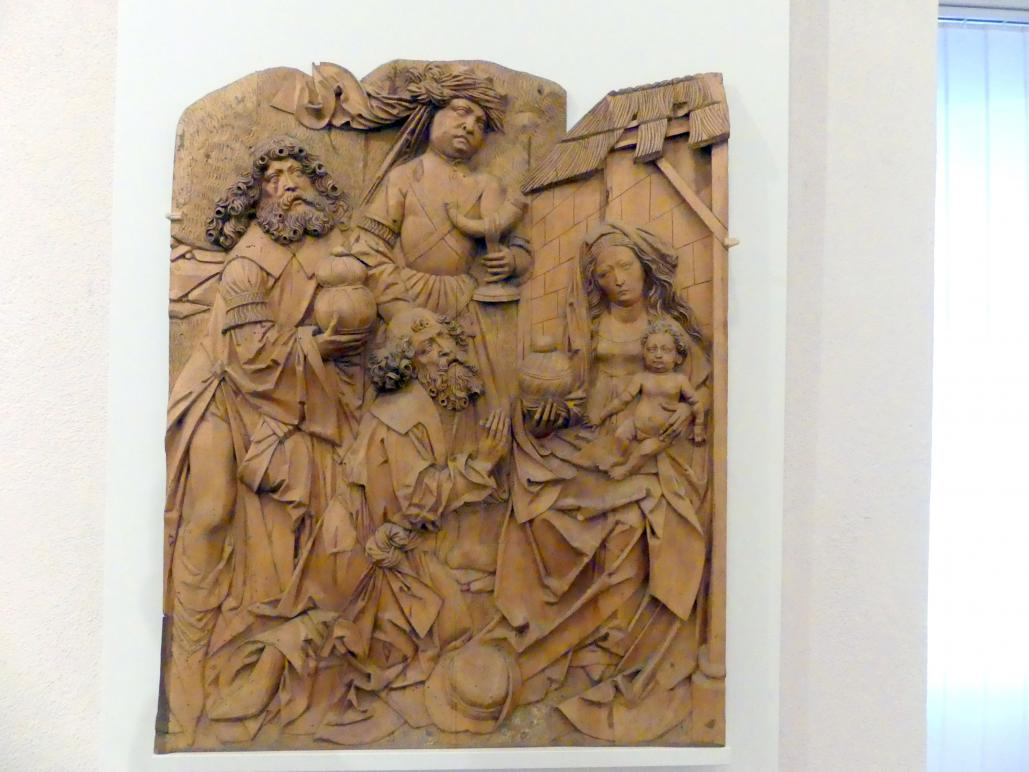Tilman Riemenschneider: Anbetung der Könige, Um 1510