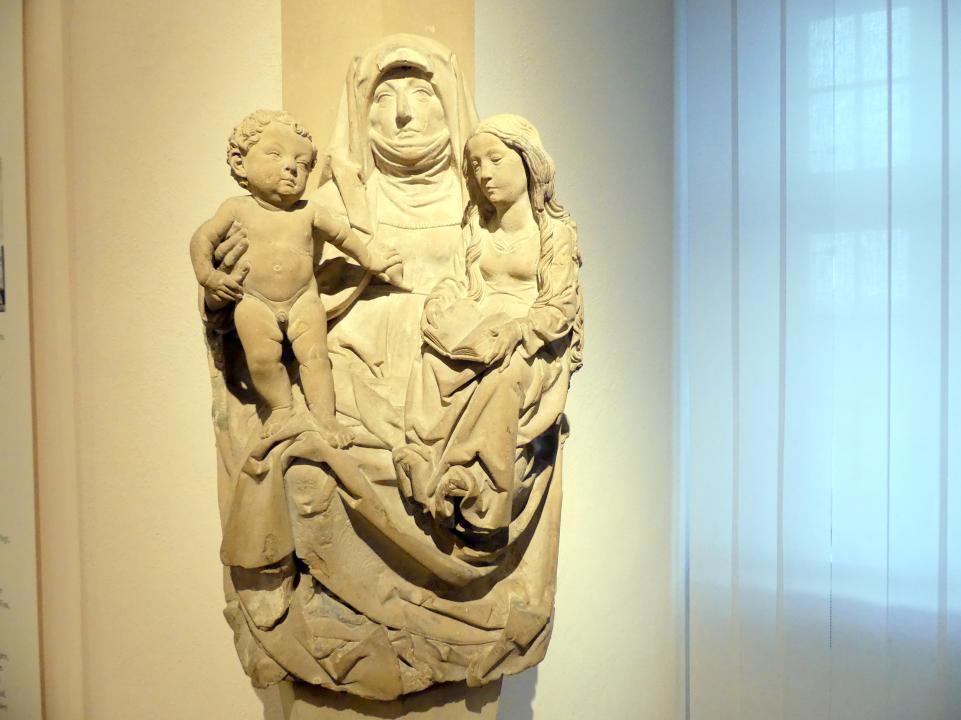 Tilman Riemenschneider: Anna Selbdritt, Um 1495