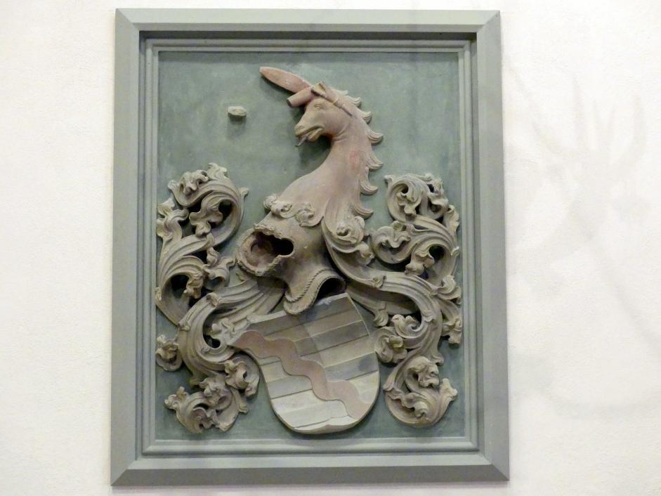 Tilman Riemenschneider: Wappenstein des Pankratz von Redwitz, 1498