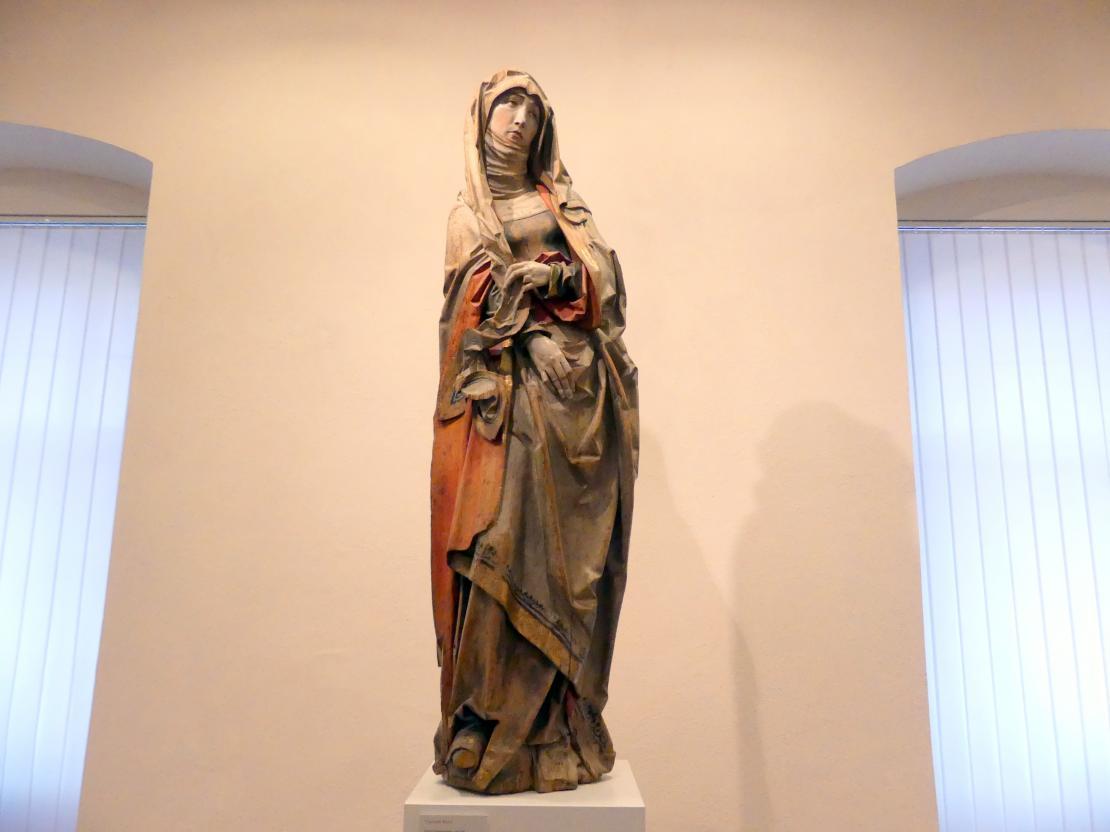Tilman Riemenschneider: Trauernde Maria, Um 1505