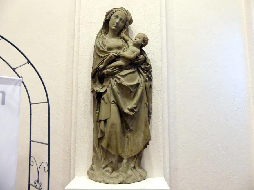 Tilman Riemenschneider: Maria mit Kind, um 1520