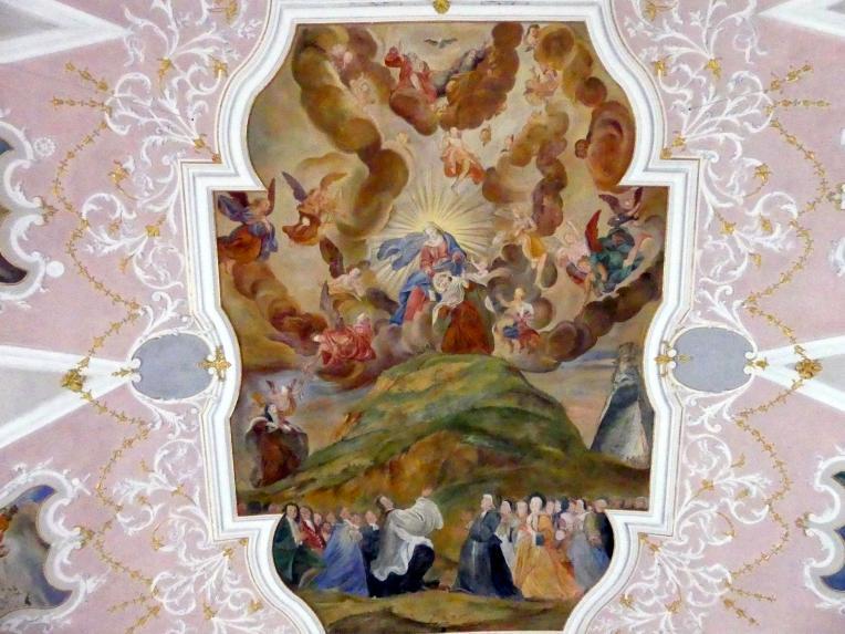 Cosmas Damian Asam: Hauptfresko, 1717