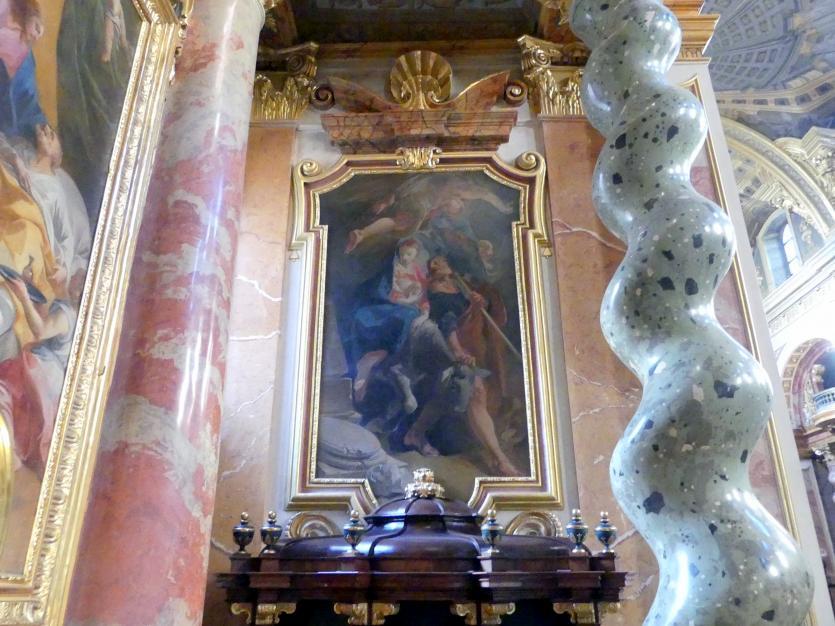 Andrea Pozzo: Ruhe auf der Flucht, um 1702 - 1705