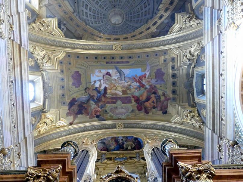 Andrea Pozzo: Freskierung, 1703 - 1709