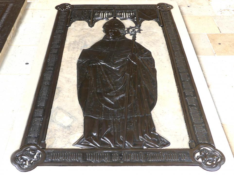 Hermann Vischer der Ältere: Grabmal des Würzburger Bischofs Sigismund von Sachsen (1416-1471), Nach 1471