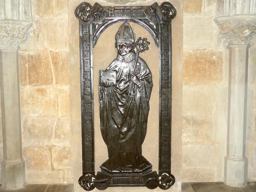 Hermann Vischer der Ältere: Grabmal des Meißener Bischofs Dietrich III. von Schönberg (um 1400-1476), Nach 1476