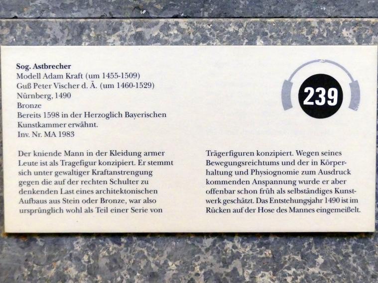 Adam Kraft: Sog. Astbrecher, 1490