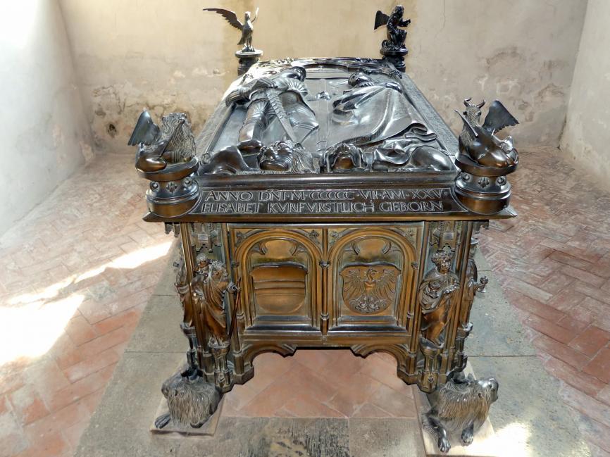 Hermann Vischer der Jüngere: Grabmal Elisabeth von Brandenburg (1474–1507) und Hermann VIII. von Henneberg (1470-1535), nach 1507