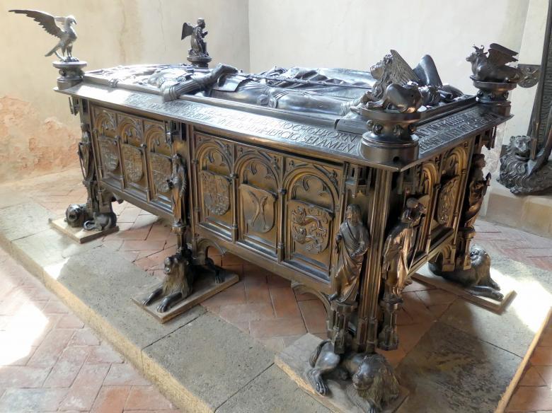 Hermann Vischer der Jüngere: Grabmal Elisabeth von Brandenburg (1474–1507) und Hermann VIII. von Henneberg (1470-1535), nach 1507, Bild 3/18