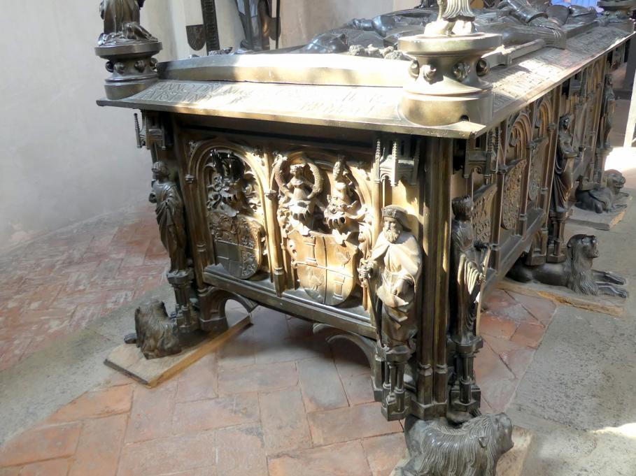 Hermann Vischer der Jüngere: Grabmal Elisabeth von Brandenburg (1474–1507) und Hermann VIII. von Henneberg (1470-1535), nach 1507, Bild 5/18