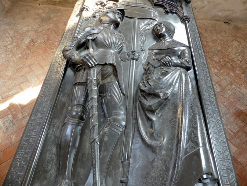 Hermann Vischer der Jüngere: Grabmal Elisabeth von Brandenburg (1474–1507) und Hermann VIII. von Henneberg (1470-1535), nach 1507, Bild 14/18
