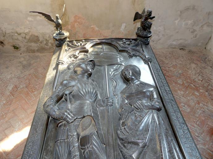 Hermann Vischer der Jüngere: Grabmal Elisabeth von Brandenburg (1474–1507) und Hermann VIII. von Henneberg (1470-1535), nach 1507, Bild 15/18