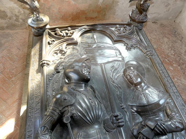 Hermann Vischer der Jüngere: Grabmal Elisabeth von Brandenburg (1474–1507) und Hermann VIII. von Henneberg (1470-1535), nach 1507, Bild 16/18