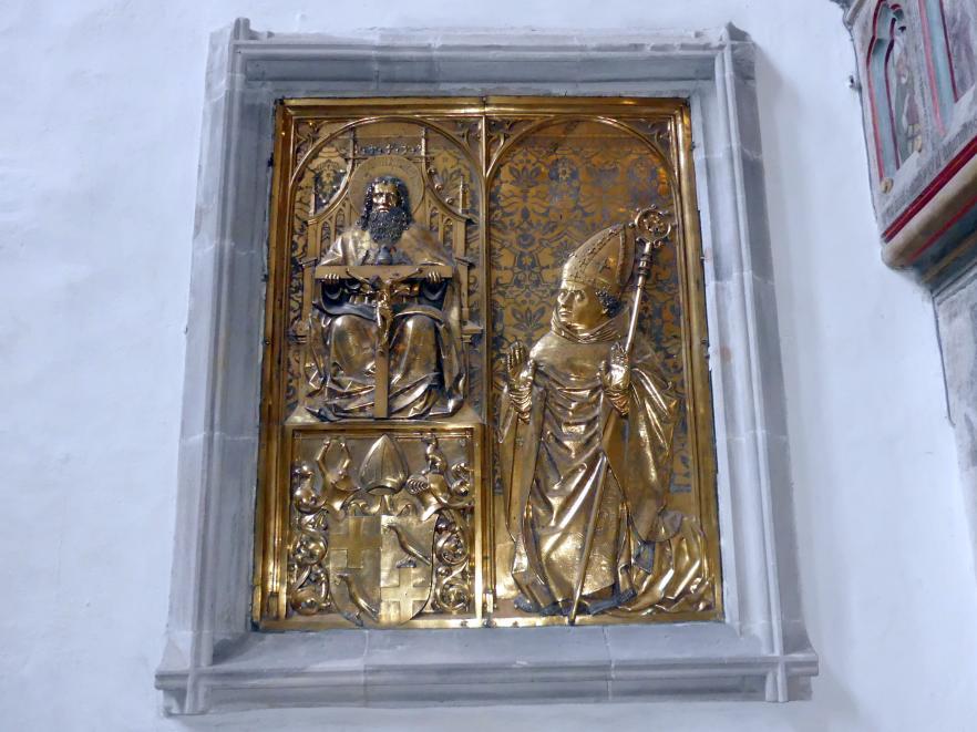 Peter Vischer der Ältere : Gedenktafel des Bischofs Thilo von Trotha (um 1443-1514), Um 1490