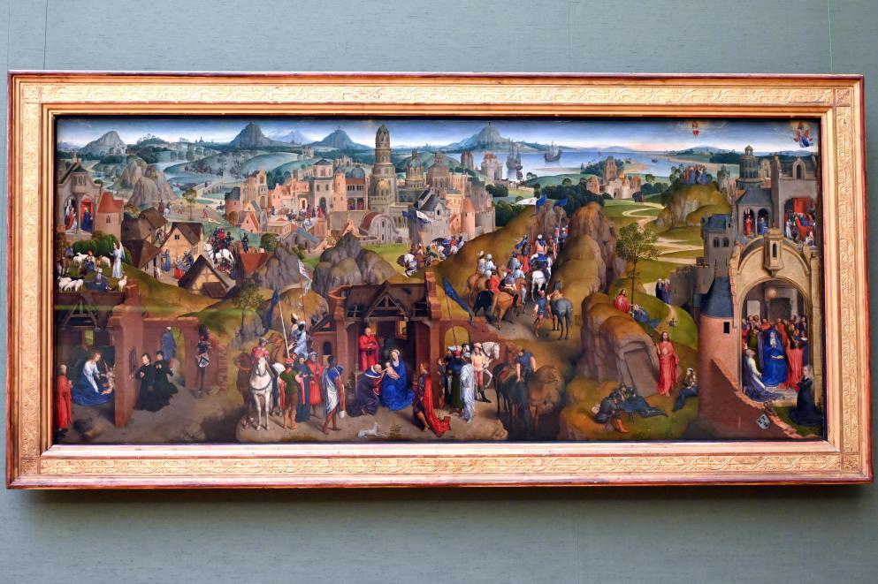 Hans Memling: Die Sieben Freuden Mariens, 1480