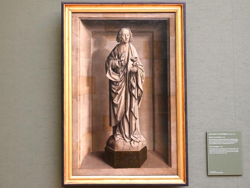 Dieric Bouts d.Ä. (Nachfolger): Johannes der Evangelist, Um 1485
