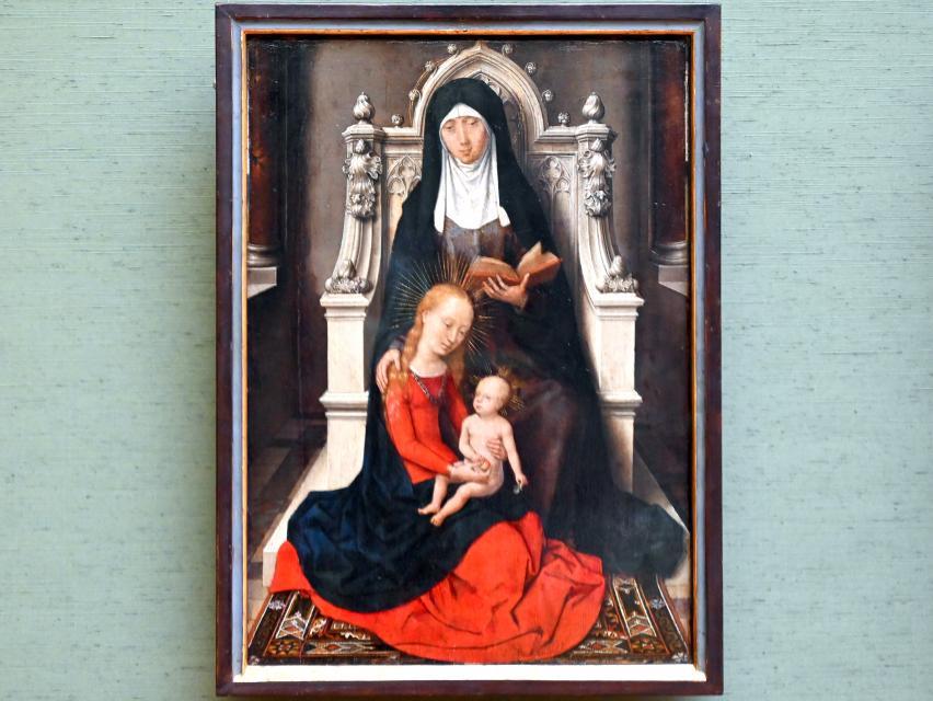 Hans Memling: Anna Selbdritt, Um 1490