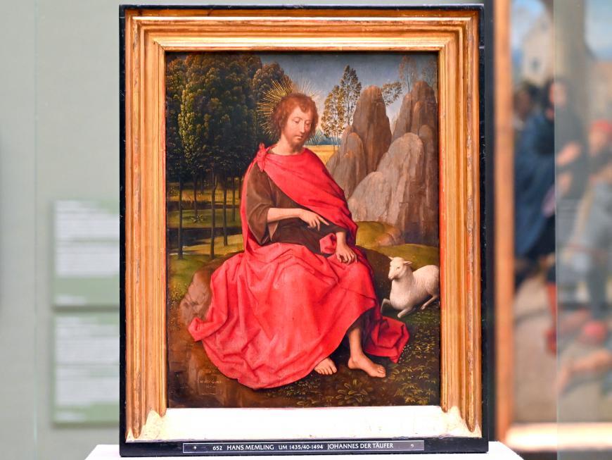 Hans Memling: Johannes der Täufer, Um 1470 - 1475